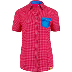 Ortovox W's Rock'n'Wool Cool Shirt Short Sleeve Very Berry